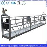 630kgs a galvanisé la plate-forme suspendue, électrique suspend la plate-forme de fonctionnement, étape d'oscillation