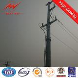 acero eléctrico poste de 10kv-500kv HDG para la línea eléctrica