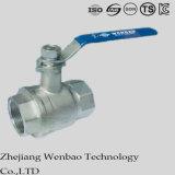 SUS304 316 шариковый клапан нержавеющей стали 2PC изолируя