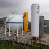 パーライトの砂の絶縁体の低温液化ガスの貯蔵タンク