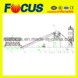 25m3/H-90m3/H droog Concrete het Groeperen van de Mengeling Installatie