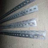 Пробитая стальная польза угла для делать шкафы и полку хранения