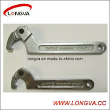 Wenzhou clé réglable en acier inoxydable en usine