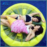 Het reuze Opblaasbare Stuk speelgoed van het Water van de Rij van de Vlotter van de Pool van de Regenboog Drijvende Opblaasbare