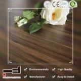 Le café de 12mm noyer la preuve de l'eau Planchers laminés pour salle à manger avec la CE et de la licence