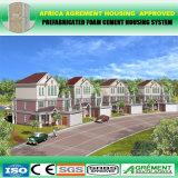 Casa Prefab com a construção de aço clara que constrói o preço do competidor