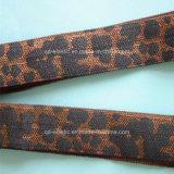 Kuhzebra-Leopard-Gepard-Tierdruck falten Gummiband zusammen