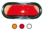 """Indicatore luminoso di segnale ovale di girata del LED 6 """" Tk-Tl311"""