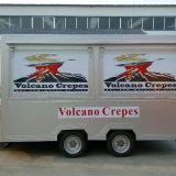 호주 표준 이동할 수 있는 음식 트레일러 음식 손수레 트럭