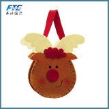 Decoraciones no tejidas de la Navidad del bolso del regalo del caramelo de la Navidad del fieltro del bolso de las telas