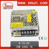 높은 Quality 100V-240VAC Input 15W 0.7A 24VDC Output Power Supply