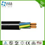 PVC estándar 300/500V 10.0m m del Ce 3 cable de transmisión de la base H05VV F