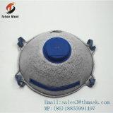 Mascherina di polvere attivata del filtrante del carbonio con la valvola N95 N99