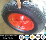 Rotella pneumatica di gomma del carrello del colpo gonfiabile delle rotelle per la carriola