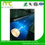 Film PVC avec l'impression, protecteur, Decrotation, couvrir et les revêtements de sol Propriétés utilisées dans la lamination, les industries