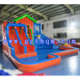 10 tester di High Adults Giant Inflatable Water Slide con Pool/Inflatable Slide Games