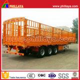 3 Fahrzeug-Stange-Ladung-halb Schlussteil der Wellen-50ton langer für allgemeinen Bulkladung-Transport