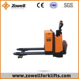Carro de paleta eléctrico caliente de la venta ISO9001 con capacidad de carga de 2/2.5/3 toneladas