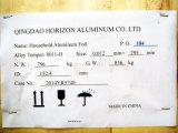 8011 катушка алюминиевой фольги закала 0.012X295 o для супермаркета