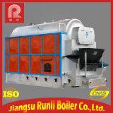 Chaudière à vapeur horizontale à combustion de chambre à haut rendement avec charbon