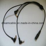 Предлагаем индивидуальные 1m черного цвета с 1 по 3 Тройных кабеля питания постоянного тока