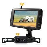 Video senza fili caldo 5-Inch, macchina fotografica di vendita 2.4GHz del recupero di inverso della targa di immatricolazione dell'automobile