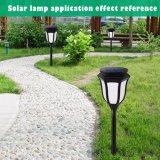 O LED de energia solar Lawn luz para iluminação de exterior com jardim