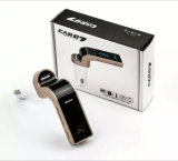 Wireless Carkit Bluetooth G7 com MP3 Player para celular