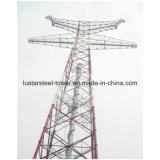 передающая линия гальванизированная 220kv силы 500kv стальная башня силы башни