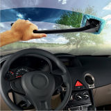 Microfiber Auto Window Car Cleaning Long Handle Brosse de lavage de voiture Dust Car Care Pare-brise Shine Towel Handy Lavable Car Cleaner
