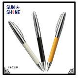 직업적인 디자인 금속 펜 상한 가죽 볼펜