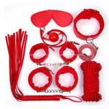 Jogo de sexo brinquedos apoios de amor servidão de couro 7 Kits de Conjunto de PCS