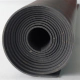 Density 1.7와 1.5에 있는 까만 SBR Cloth Insertion Rubber Sheet
