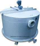 Scambiatore a pulizia automatica di ripristino di calore dell'acqua di scarico, scambiatore di calore largo della piastra a canali