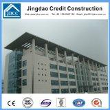 Edificio de oficinas de la fábrica de varios pisos de acero de la estructura