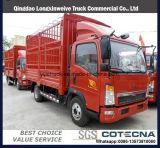 Camion chiaro del carico di Sinotruk HOWO 4X2 130HP