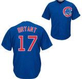 Мужчины Женщины дети Chicago Cubs 17 Крис Брайант главная дорога Cool Base Player бейсбола футболках NIKEID
