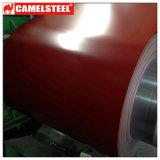 PPGI prepintó la bobina de acero galvanizada para la casa del material para techos del metal