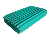 Metso/S/Jaw 쇄석기를 위한 높은 Mn 강철 턱 격판덮개
