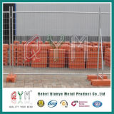Высокий уровень безопасности с покрытием из ПВХ строительство проволочной сетке гриль временные ограждения