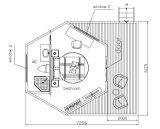 Wasserdichtes Segeltuch-Luxushotel-Zelt-Rücksortierung-Zelt