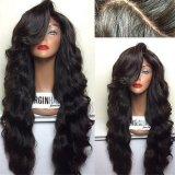 Pleine perruque de lacet de cheveu brésilien de Vierge/perruque humaine de lacet