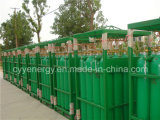 ISO9809 árgon, azoto de oxigénio industrial de cilindros de gás de aço sem costura