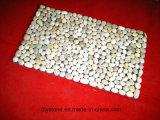 Revestimento de revestimento de decoração de porta Pedra de seixo natural