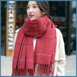 2017年のOEMの100%年の綿の明白なスカーフの冬のスカーフ