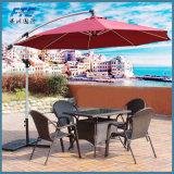 Im Freien großer Sun-Regenschirm-Strand-Regenschirm-Hof-Sonnenschutz