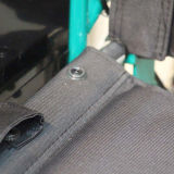 [توبمدي] [مديكل قويبمنت] يرقد عال خلفيّة مسحوق طلية فولاذ كرسيّ ذو عجلات