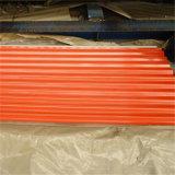 Le matériau de toiture a enduit la bobine d'une première couche de peinture en acier PPGI d'Aluzinc avec la couleur populaire