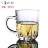 واضحة زجاجيّة [كب وتر] فنجان جعة فنجان أداة مائدة آنية زجاجيّة [سد-ج0072]