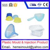 Molde plástico da cubeta, molde plástico